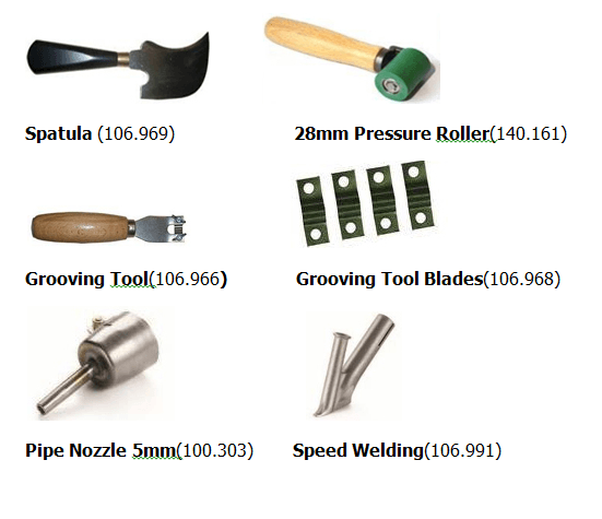 Hot Air Lino Welding Gun